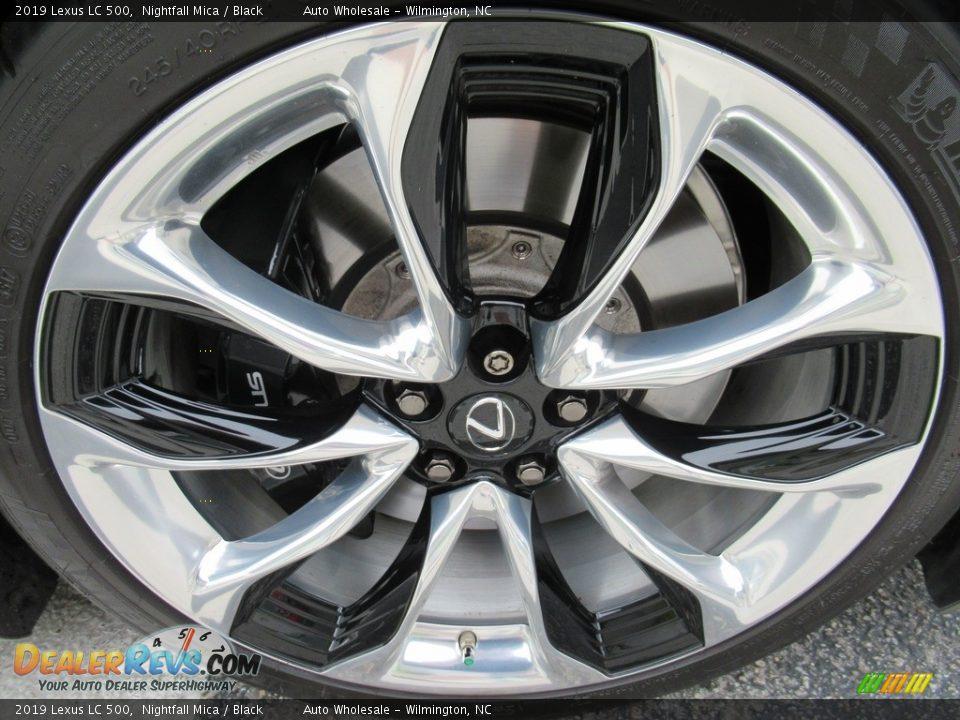 2019 Lexus LC 500 Wheel Photo #7