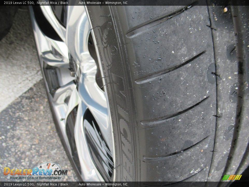 2019 Lexus LC 500 Nightfall Mica / Black Photo #8