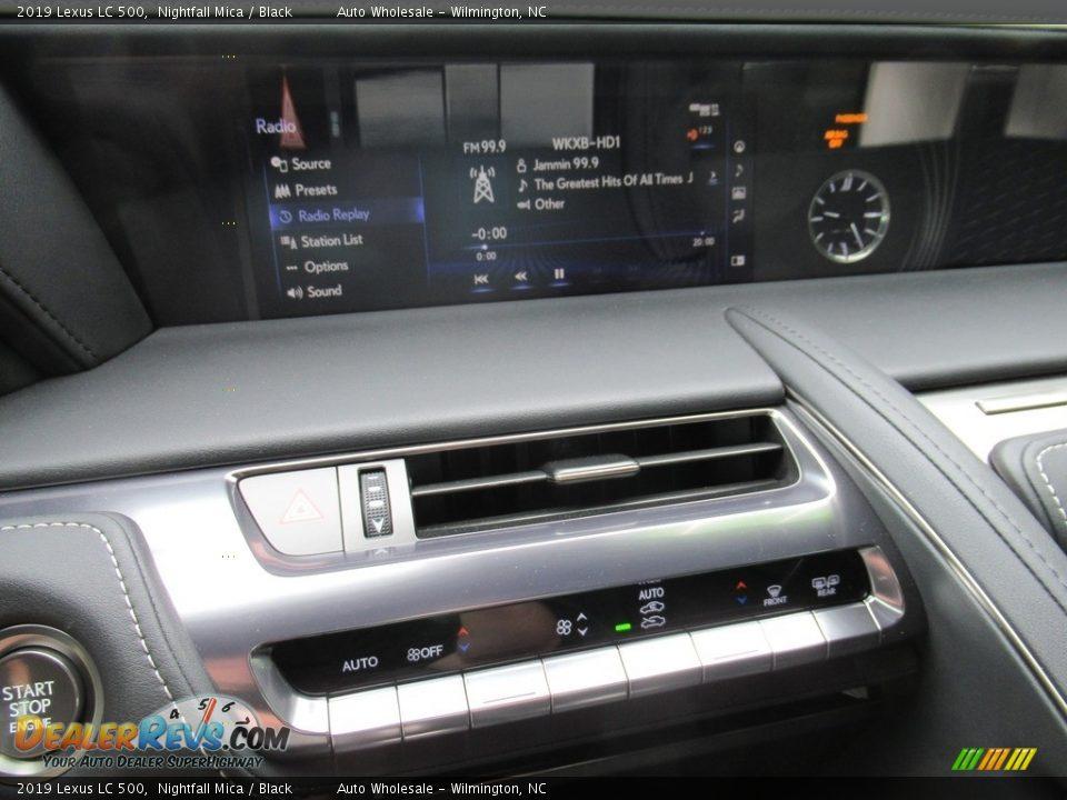 Controls of 2019 Lexus LC 500 Photo #18