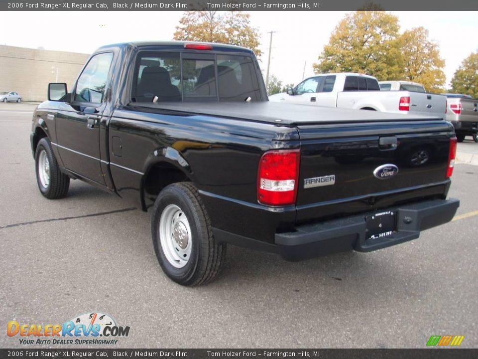 2006 ford ranger xl regular cab black medium dark flint photo 3. Black Bedroom Furniture Sets. Home Design Ideas