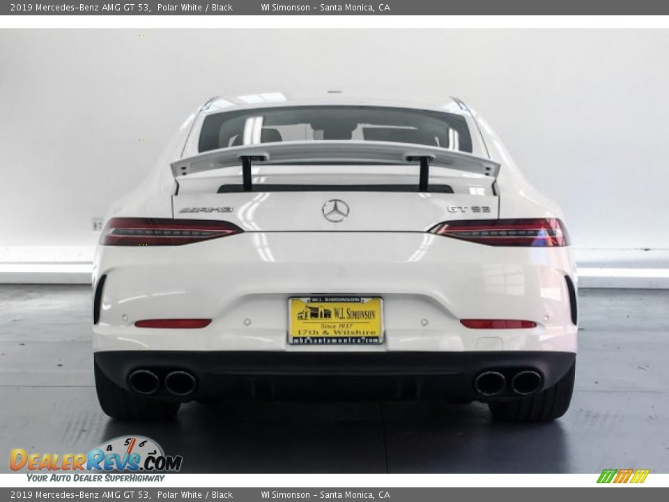 2019 Mercedes-Benz AMG GT 53 Polar White / Black Photo #3