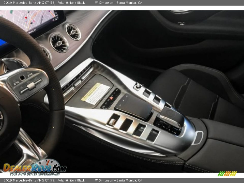 Controls of 2019 Mercedes-Benz AMG GT 53 Photo #7