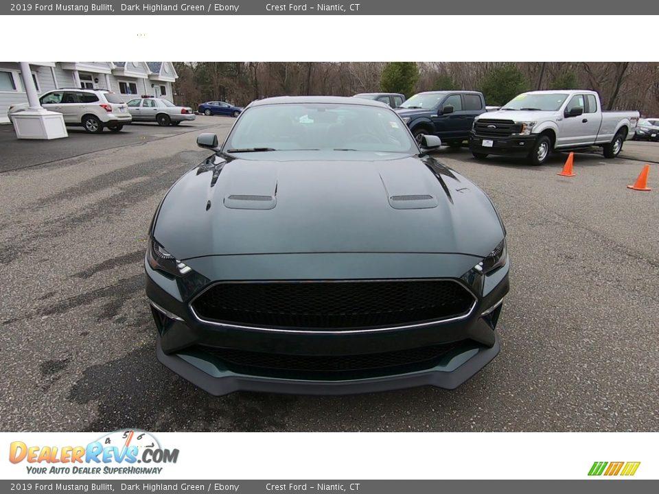 2019 Ford Mustang Bullitt Dark Highland Green / Ebony Photo #2