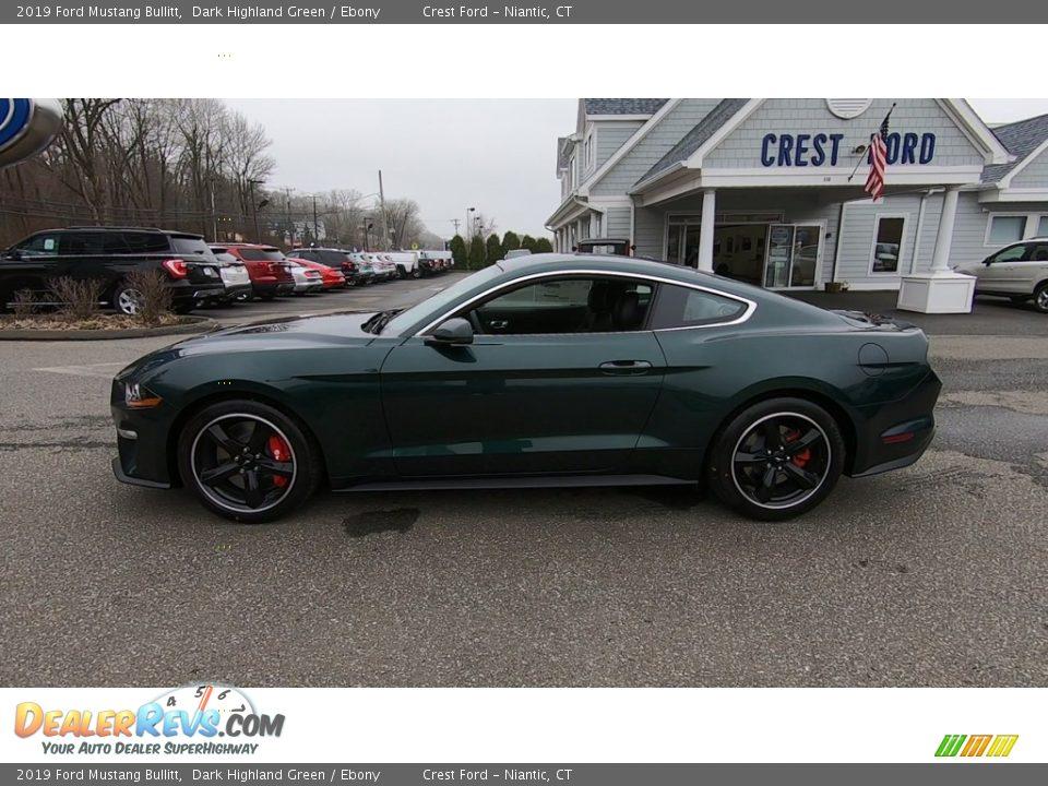 2019 Ford Mustang Bullitt Dark Highland Green / Ebony Photo #4