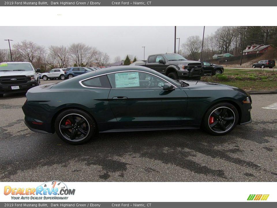 Dark Highland Green 2019 Ford Mustang Bullitt Photo #8