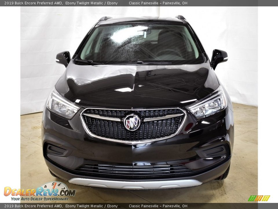 2019 Buick Encore Preferred AWD Ebony Twilight Metallic / Ebony Photo #4