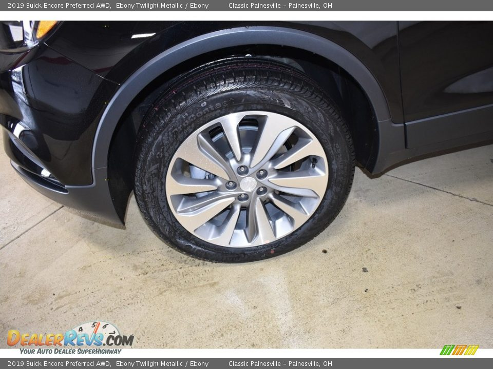 2019 Buick Encore Preferred AWD Ebony Twilight Metallic / Ebony Photo #5