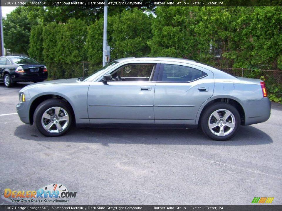 2007 Dodge Charger SXT Silver Steel Metallic / Dark Slate