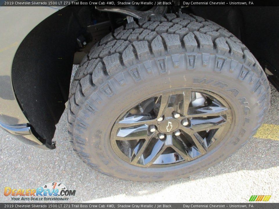 2019 Chevrolet Silverado 1500 LT Z71 Trail Boss Crew Cab 4WD Shadow Gray Metallic / Jet Black Photo #8