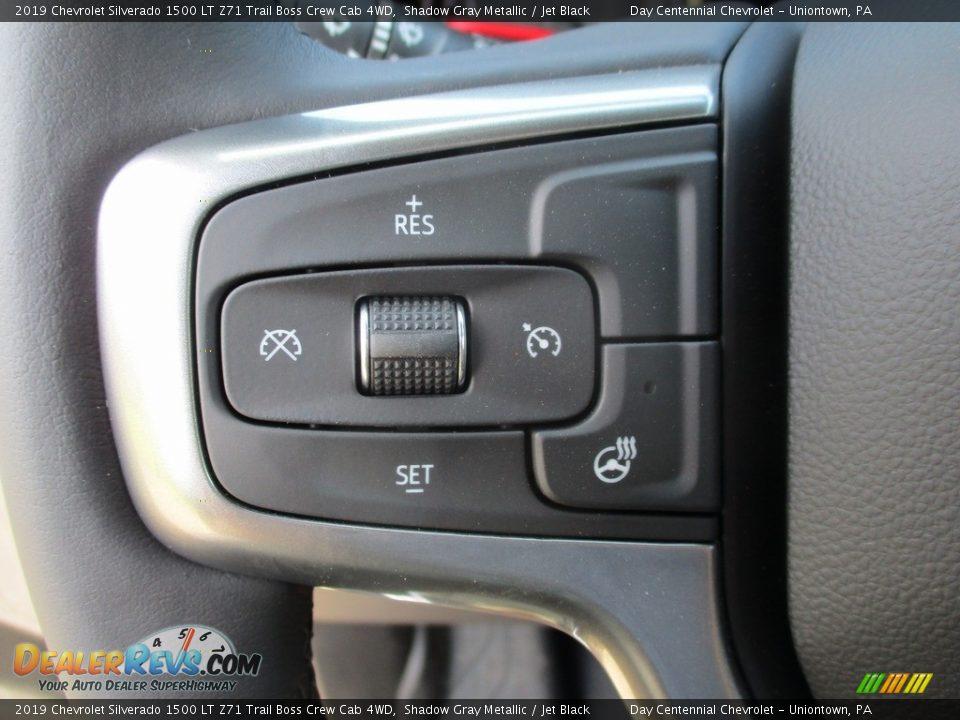 2019 Chevrolet Silverado 1500 LT Z71 Trail Boss Crew Cab 4WD Steering Wheel Photo #16