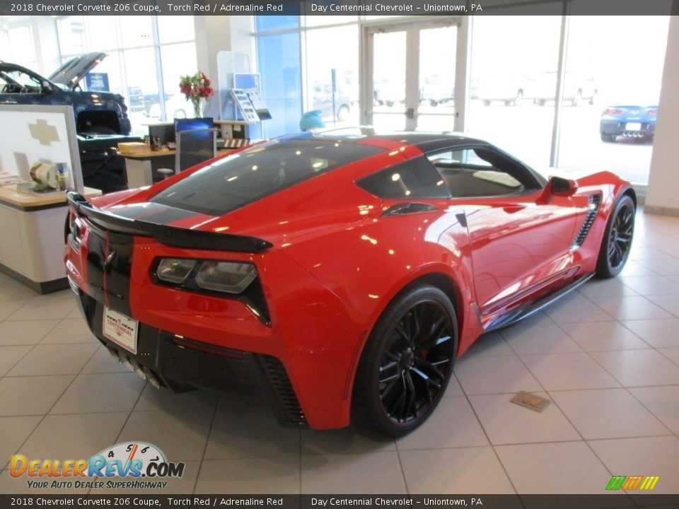 2018 Chevrolet Corvette Z06 Coupe Torch Red / Adrenaline Red Photo #2