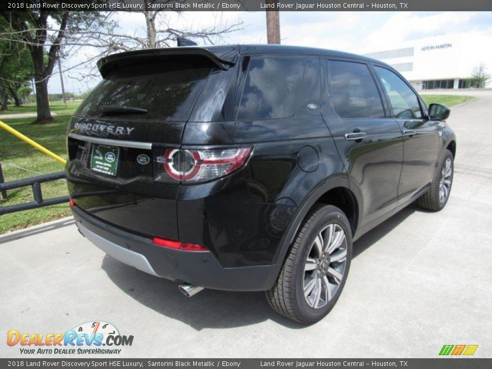 2018 Land Rover Discovery Sport HSE Luxury Santorini Black Metallic / Ebony Photo #7