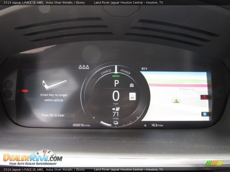 2019 Jaguar I-PACE SE AWD Gauges Photo #28