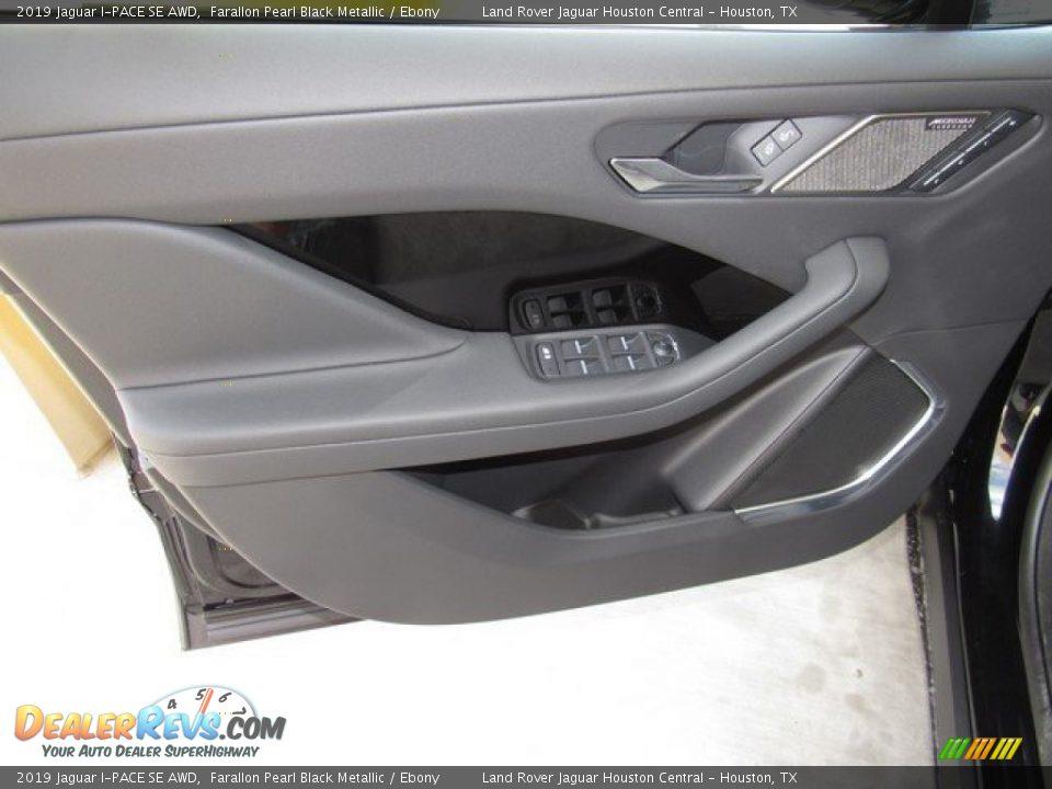 Door Panel of 2019 Jaguar I-PACE SE AWD Photo #23