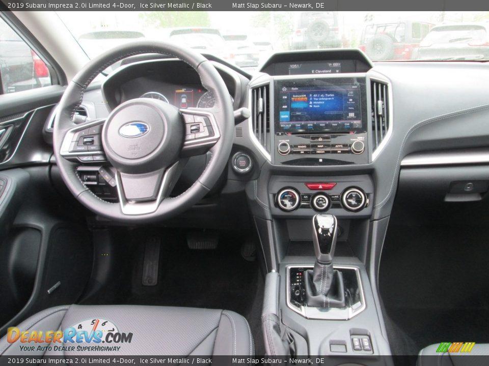 2019 Subaru Impreza 2.0i Limited 4-Door Ice Silver Metallic / Black Photo #10