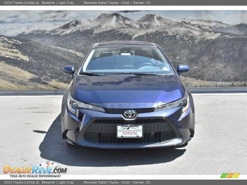 2020 Toyota Corolla LE Blueprint / Light Gray Photo #2