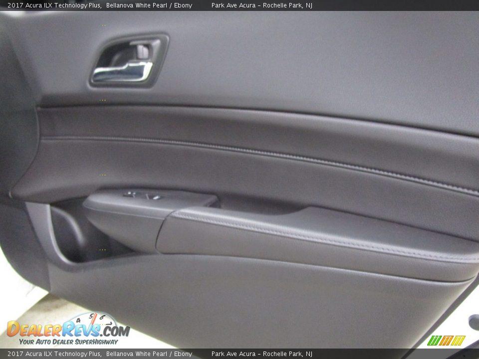 2017 Acura ILX Technology Plus Bellanova White Pearl / Ebony Photo #10