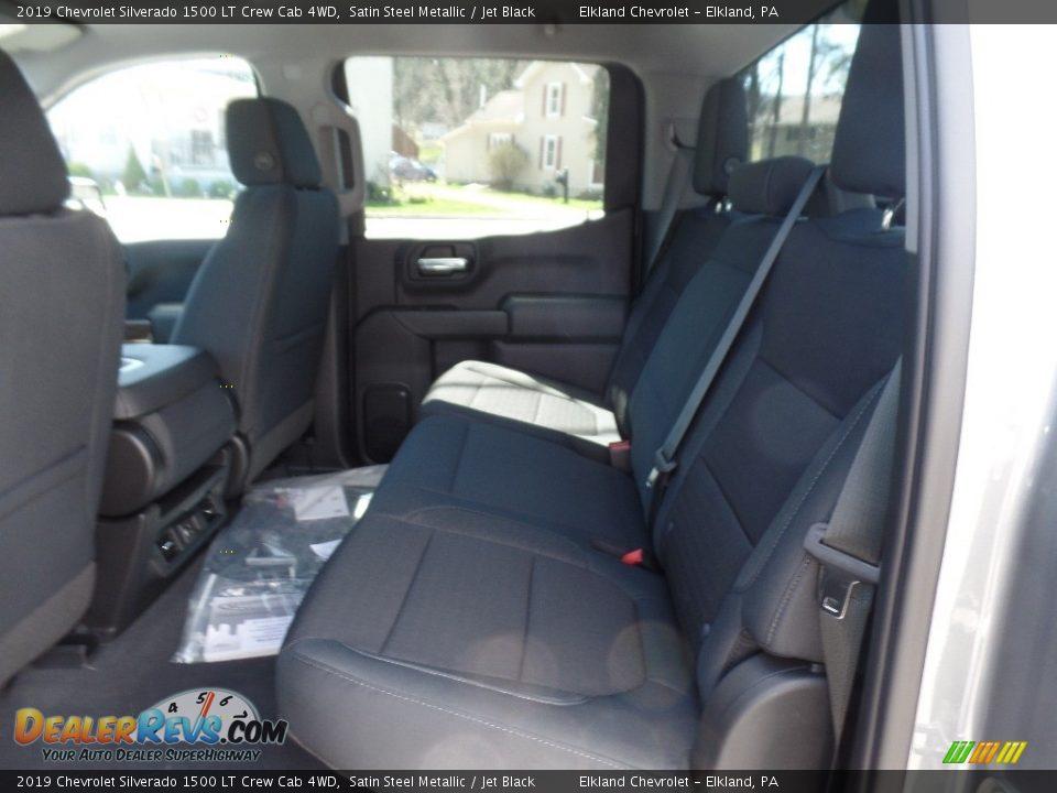 2019 Chevrolet Silverado 1500 LT Crew Cab 4WD Satin Steel Metallic / Jet Black Photo #18
