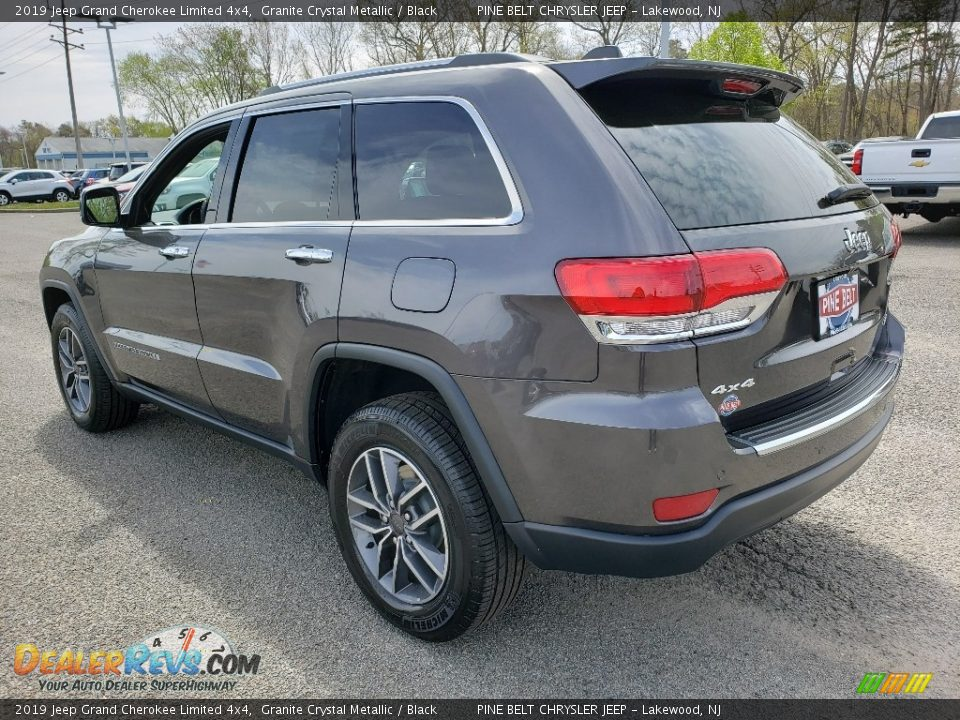 2019 Jeep Grand Cherokee Limited 4x4 Granite Crystal Metallic / Black Photo #4