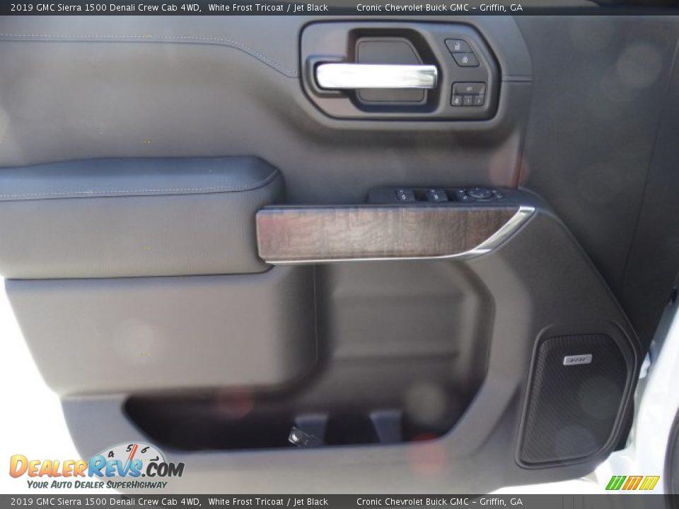 2019 GMC Sierra 1500 Denali Crew Cab 4WD White Frost Tricoat / Jet Black Photo #14