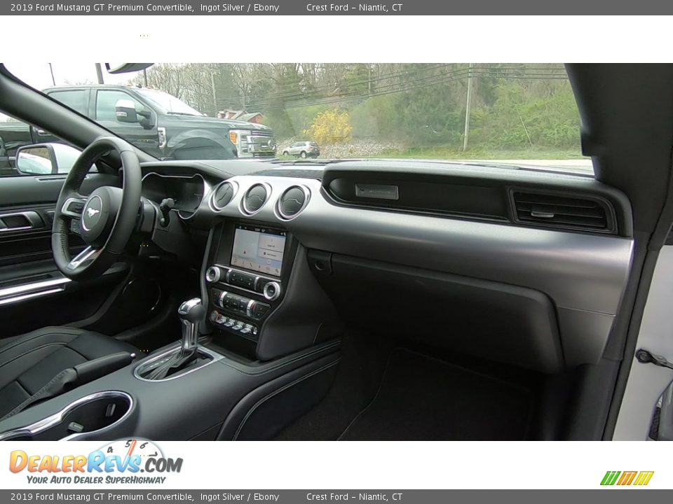 Dashboard of 2019 Ford Mustang GT Premium Convertible Photo #23