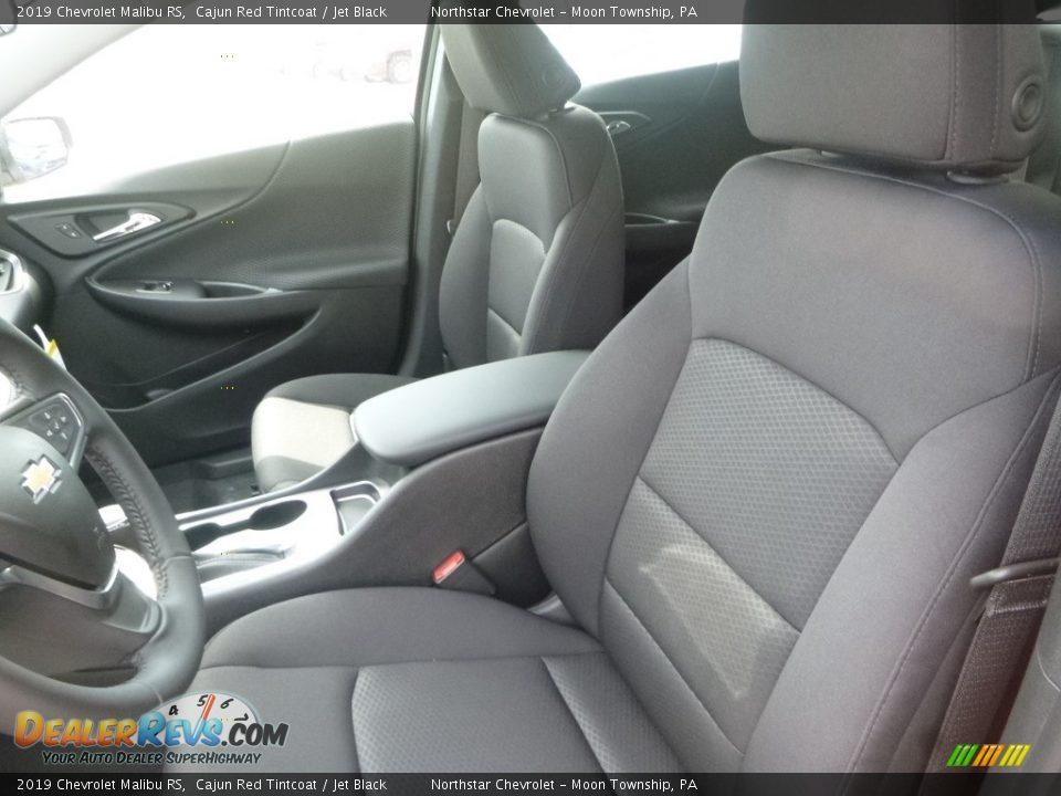2019 Chevrolet Malibu RS Cajun Red Tintcoat / Jet Black Photo #15