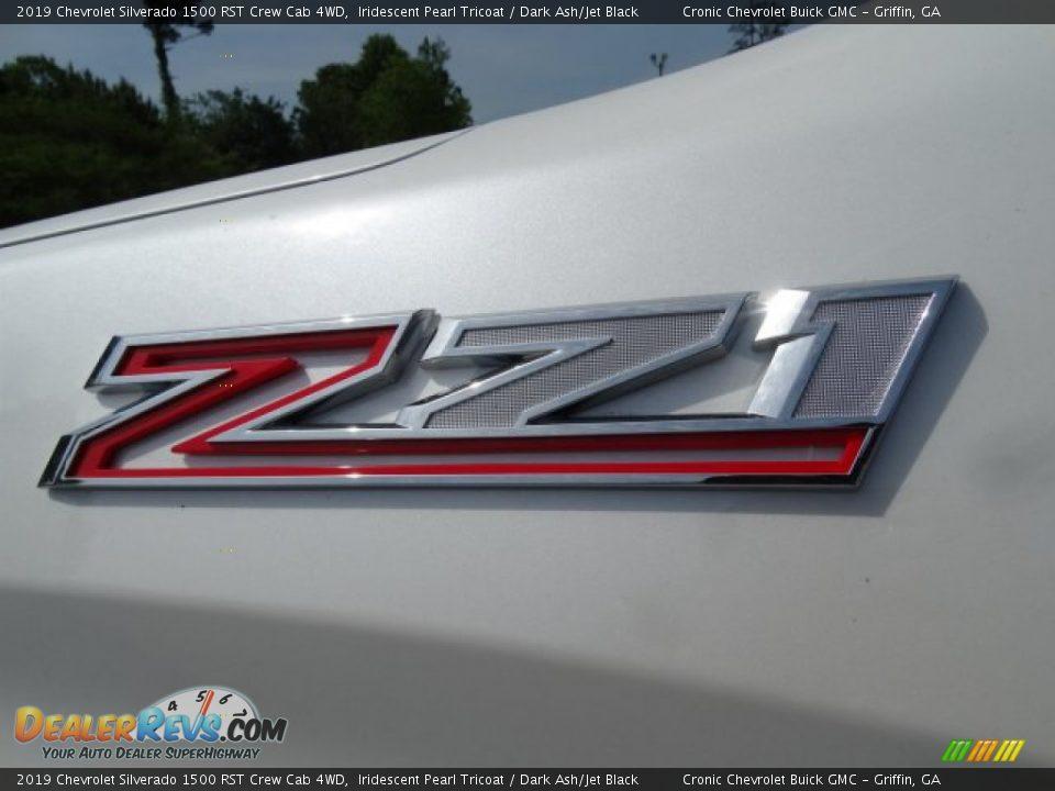 2019 Chevrolet Silverado 1500 RST Crew Cab 4WD Iridescent Pearl Tricoat / Dark Ash/Jet Black Photo #10