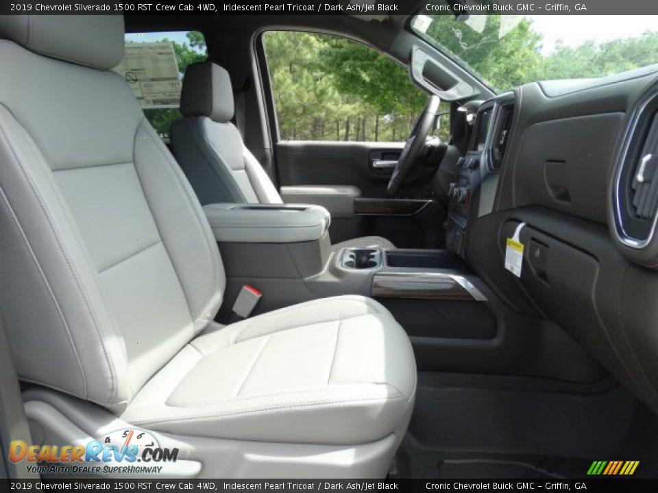 2019 Chevrolet Silverado 1500 RST Crew Cab 4WD Iridescent Pearl Tricoat / Dark Ash/Jet Black Photo #33