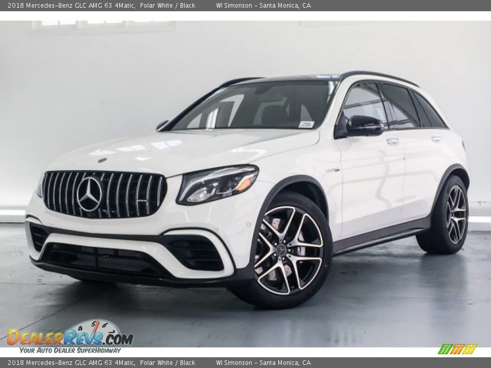 Front 3/4 View of 2018 Mercedes-Benz GLC AMG 63 4Matic Photo #13