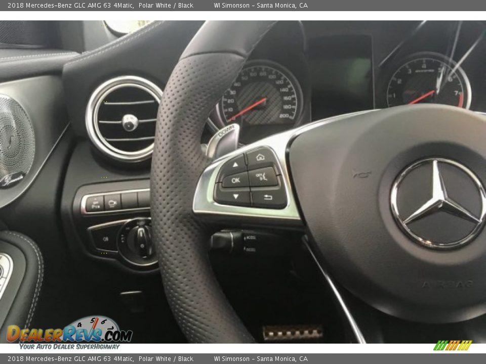 2018 Mercedes-Benz GLC AMG 63 4Matic Steering Wheel Photo #18