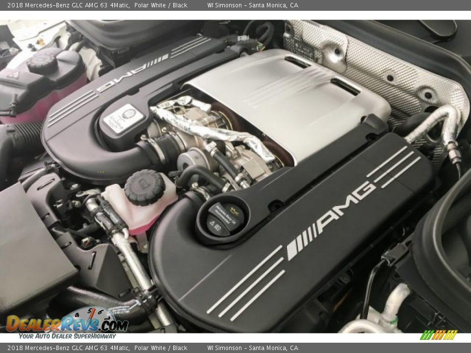 2018 Mercedes-Benz GLC AMG 63 4Matic 4.0 Liter AMG biturbo DOHC 32-Valve VVT V8 Engine Photo #31