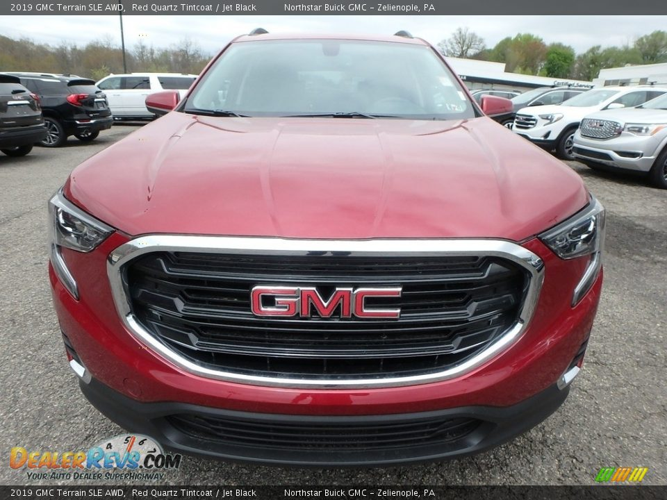2019 GMC Terrain SLE AWD Red Quartz Tintcoat / Jet Black Photo #2