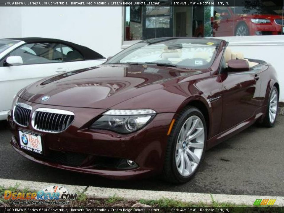 2009 bmw 6 series 650i convertible barbera red metallic. Black Bedroom Furniture Sets. Home Design Ideas