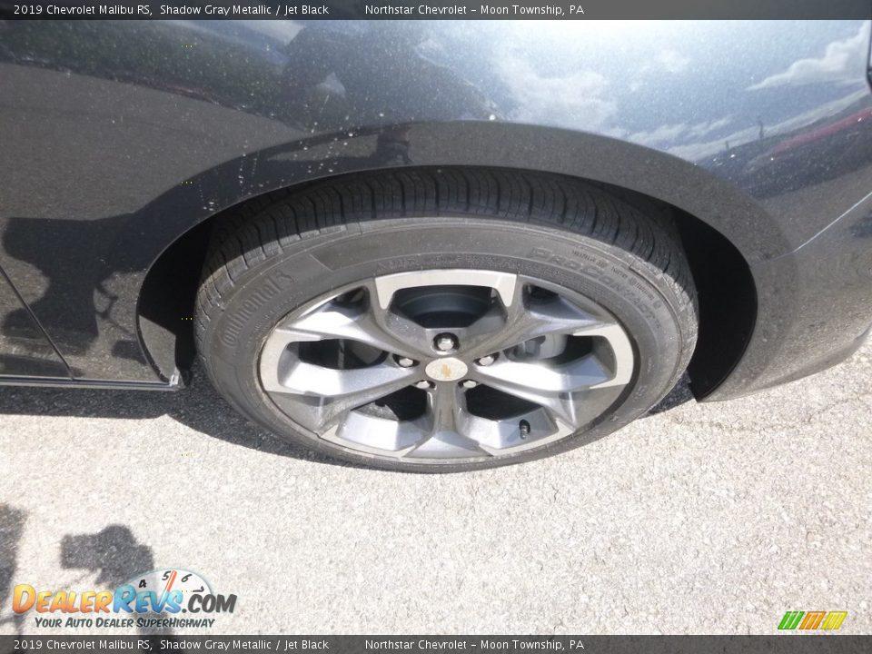 2019 Chevrolet Malibu RS Shadow Gray Metallic / Jet Black Photo #9
