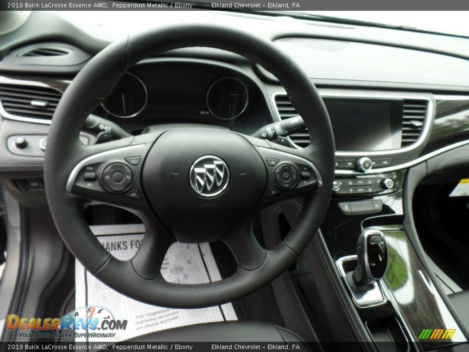 2019 Buick LaCrosse Essence AWD Steering Wheel Photo #17