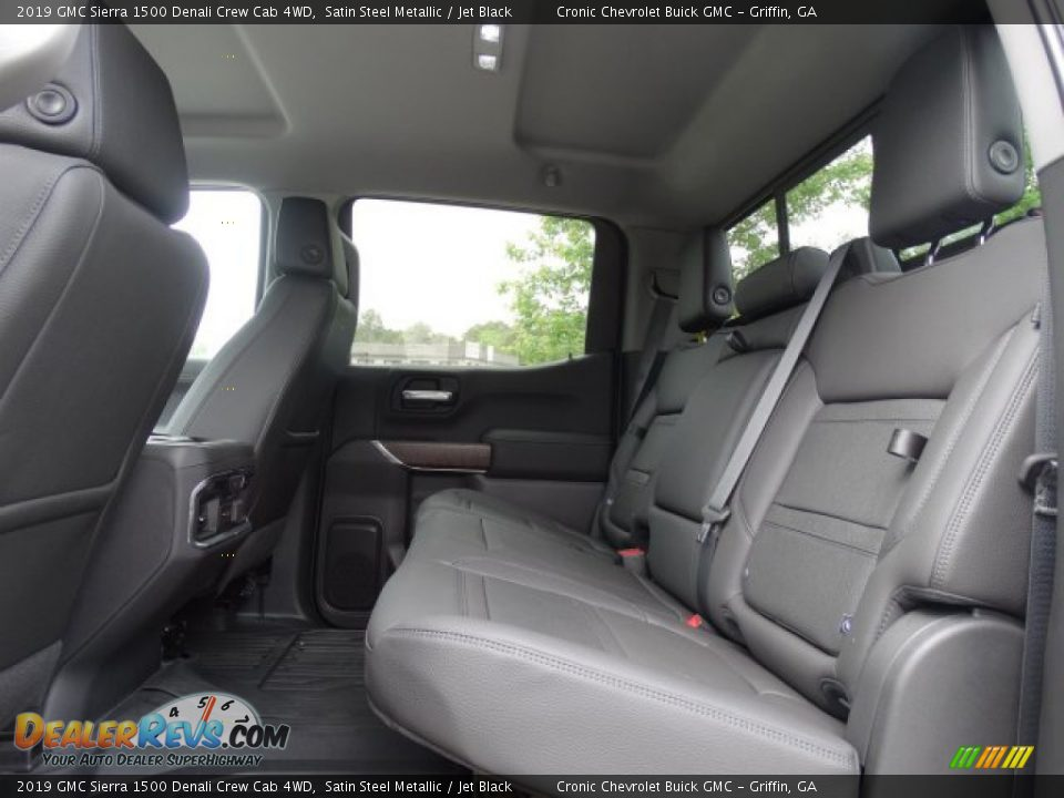 Rear Seat of 2019 GMC Sierra 1500 Denali Crew Cab 4WD Photo #27