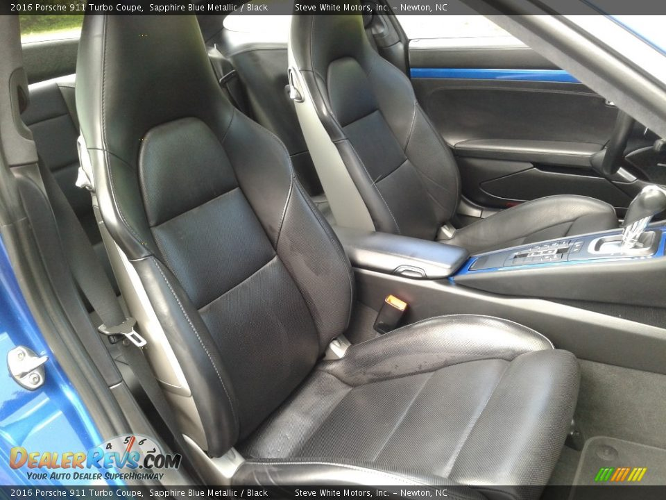 Front Seat of 2016 Porsche 911 Turbo Coupe Photo #15