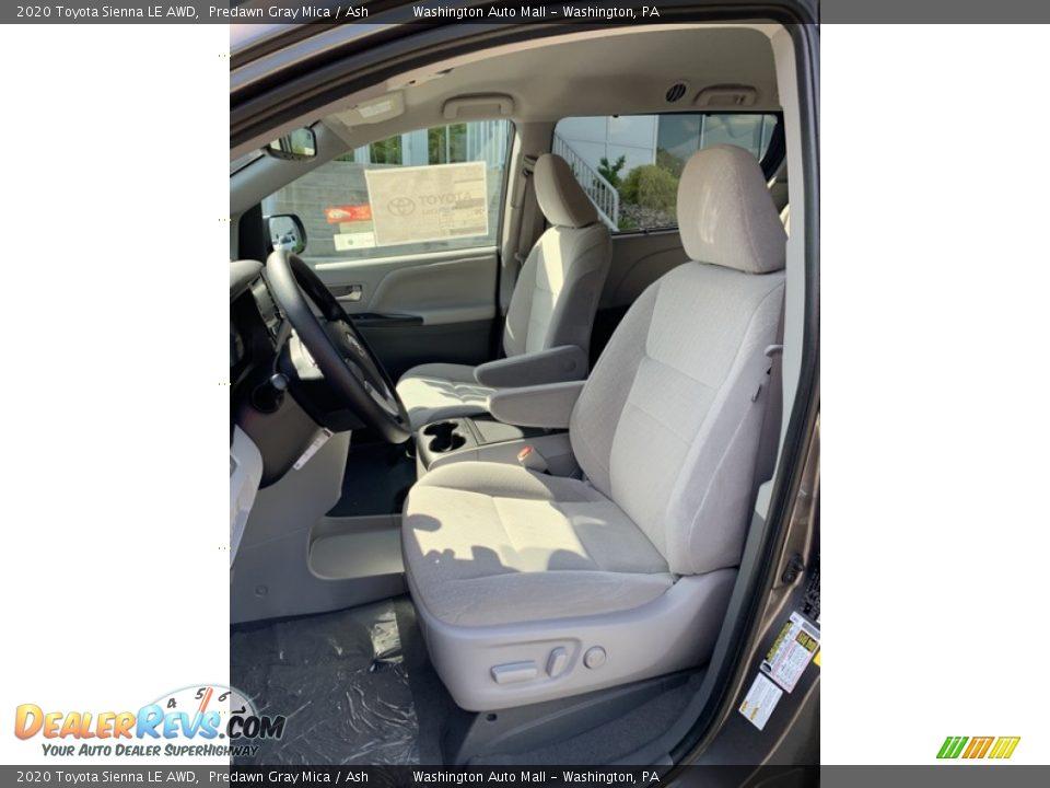 2020 Toyota Sienna LE AWD Predawn Gray Mica / Ash Photo #12