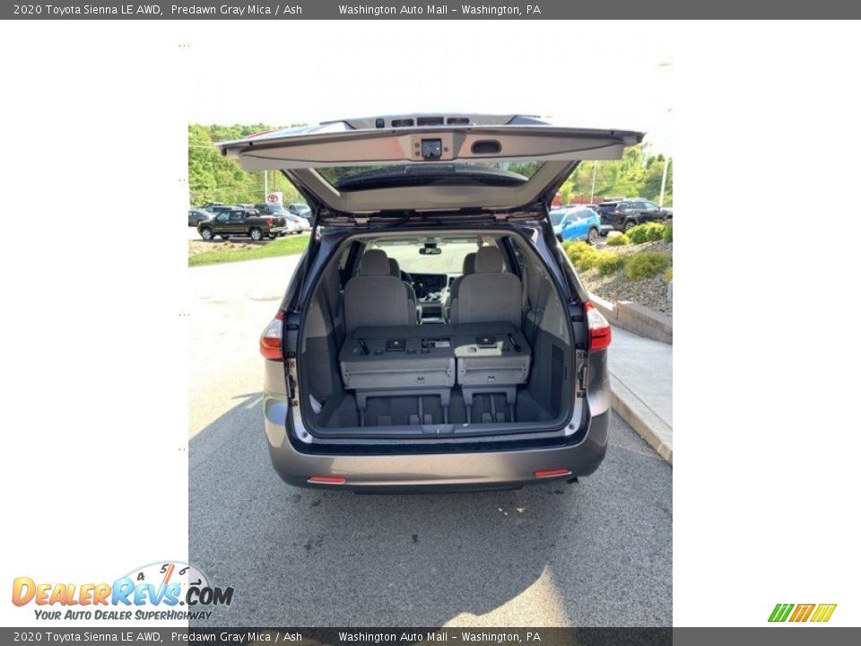 2020 Toyota Sienna LE AWD Predawn Gray Mica / Ash Photo #20