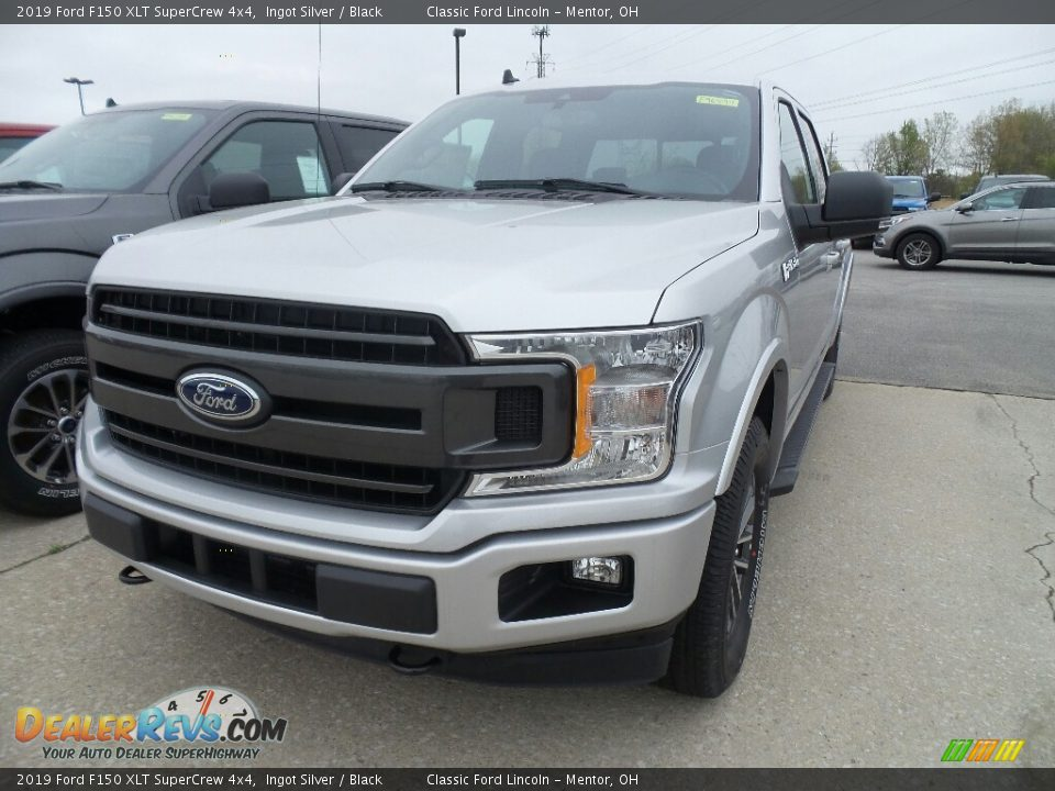 2019 Ford F150 XLT SuperCrew 4x4 Ingot Silver / Black Photo #1