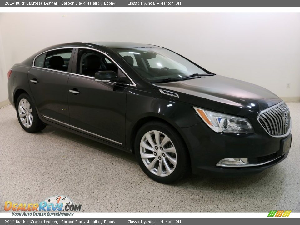 2014 Buick LaCrosse Leather Carbon Black Metallic / Ebony Photo #1