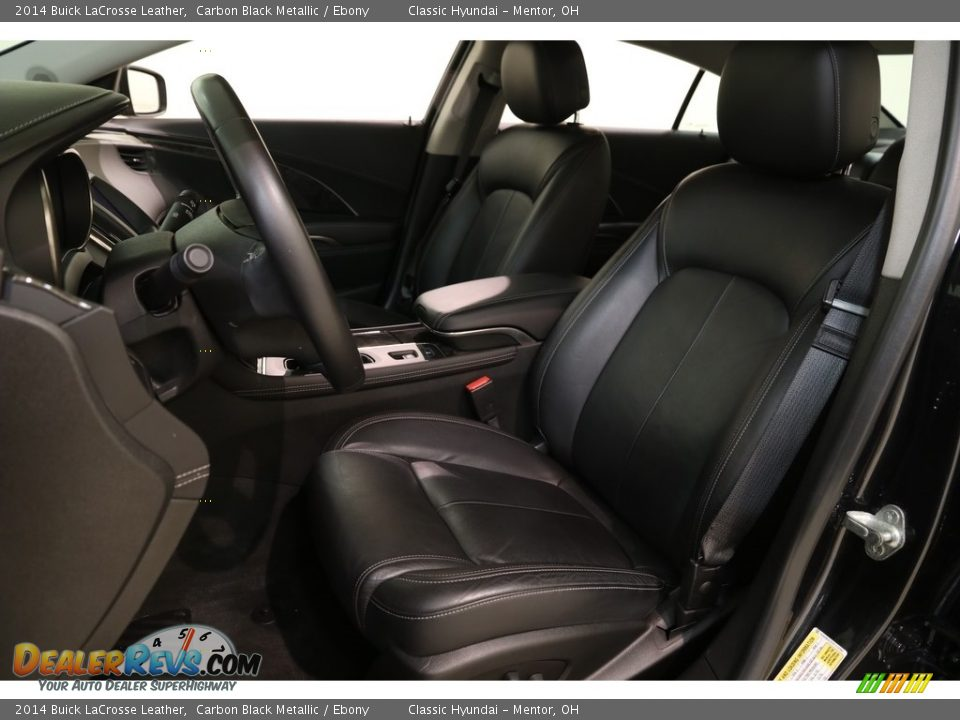 2014 Buick LaCrosse Leather Carbon Black Metallic / Ebony Photo #5