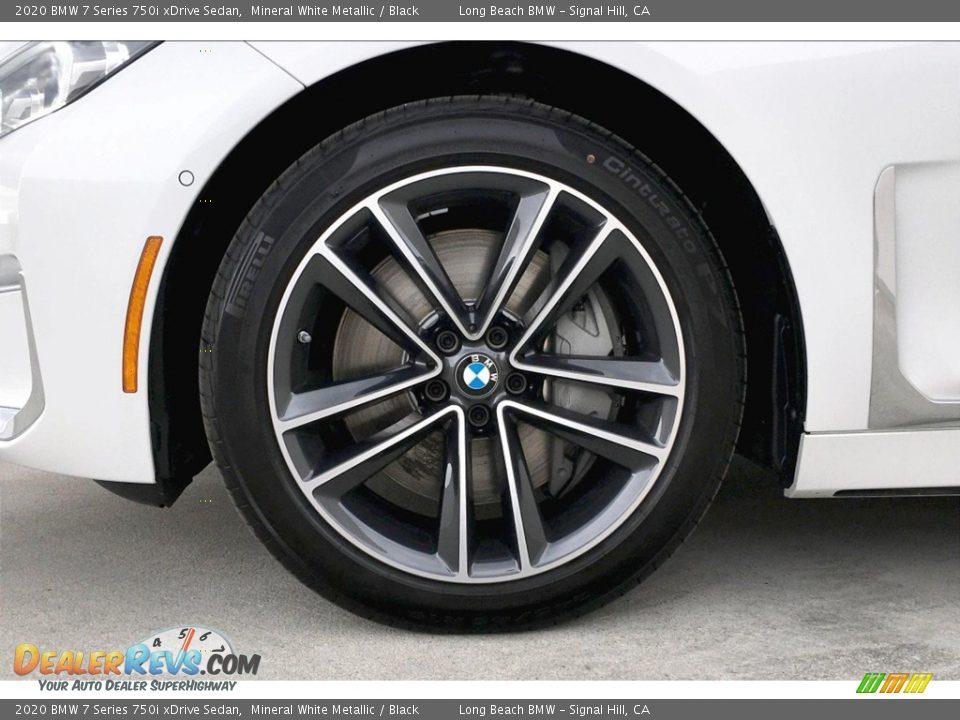 2020 BMW 7 Series 750i xDrive Sedan Wheel Photo #10