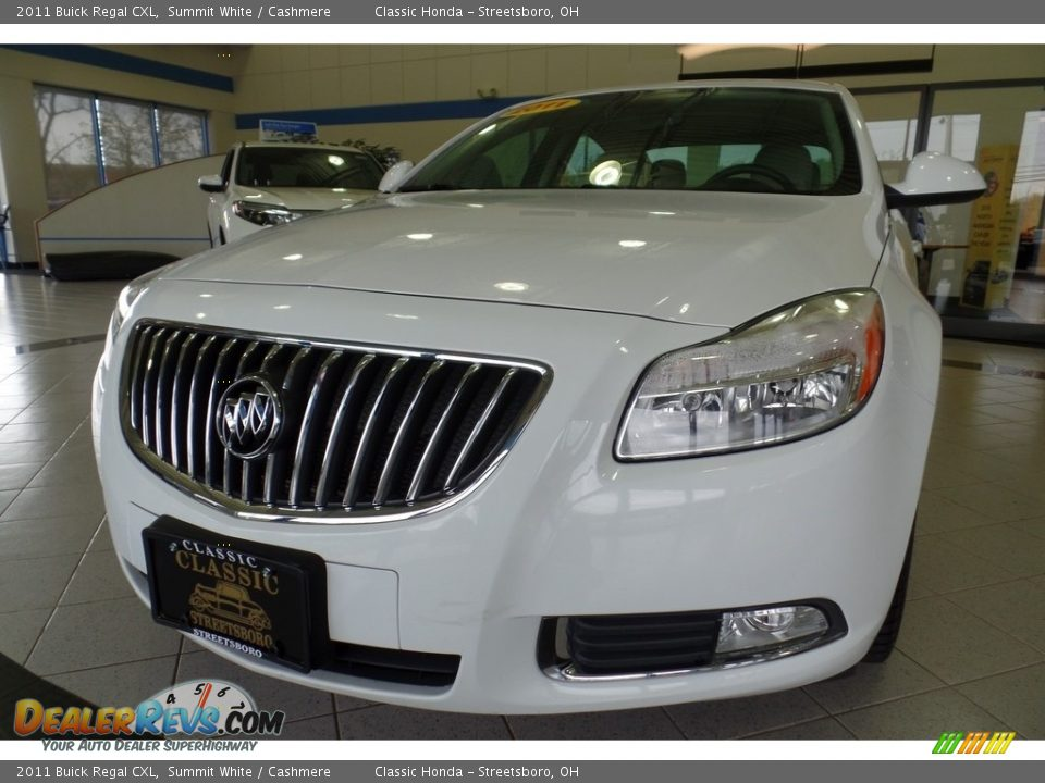 2011 Buick Regal CXL Summit White / Cashmere Photo #7