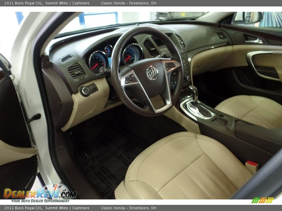 2011 Buick Regal CXL Summit White / Cashmere Photo #15