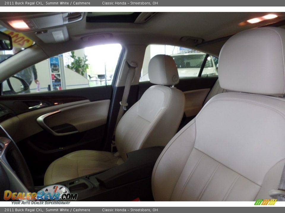 2011 Buick Regal CXL Summit White / Cashmere Photo #16