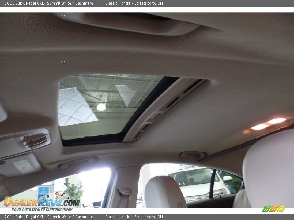 2011 Buick Regal CXL Summit White / Cashmere Photo #17
