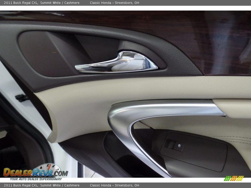 2011 Buick Regal CXL Summit White / Cashmere Photo #20