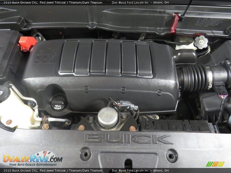 2010 Buick Enclave CXL Red Jewel Tintcoat / Titanium/Dark Titanium Photo #8