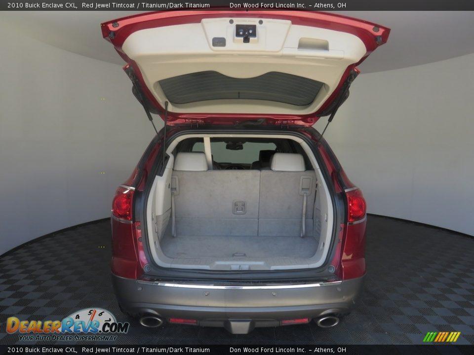 2010 Buick Enclave CXL Red Jewel Tintcoat / Titanium/Dark Titanium Photo #14